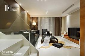 鸿鹄作品:◤当代风◢120㎡现代风格三居现代简约家装装修案例效果图