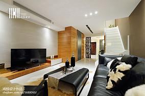 精选99平大小现代三居装修设计效果图片欣赏家装装修案例效果图