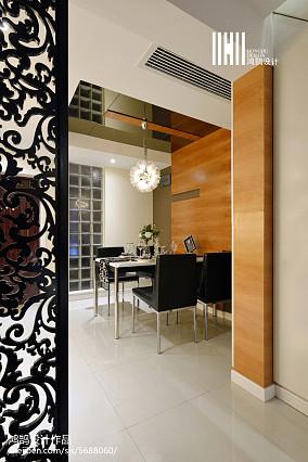 2018精选101平米三居餐厅现代装饰图片欣赏家装装修案例效果图