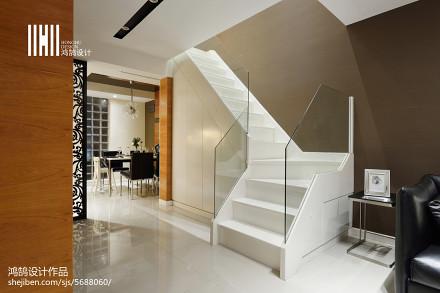 温馨86平现代三居设计案例