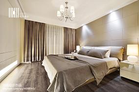 优雅124平现代三居装修设计图三居现代简约家装装修案例效果图