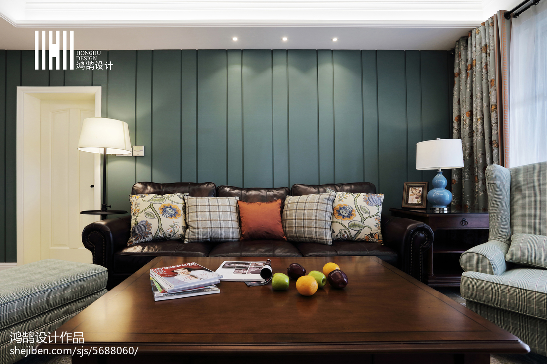 精美104平米三居客厅美式装修设计效果图片欣赏客厅美式经典客厅设计图片赏析
