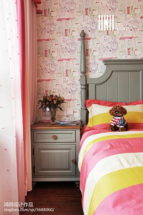 精选面积108平美式三居儿童房装修设计效果图