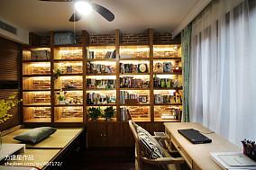 美式二居室书房设计案例