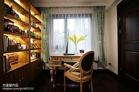 精美二居书房美式装修效果图片大全