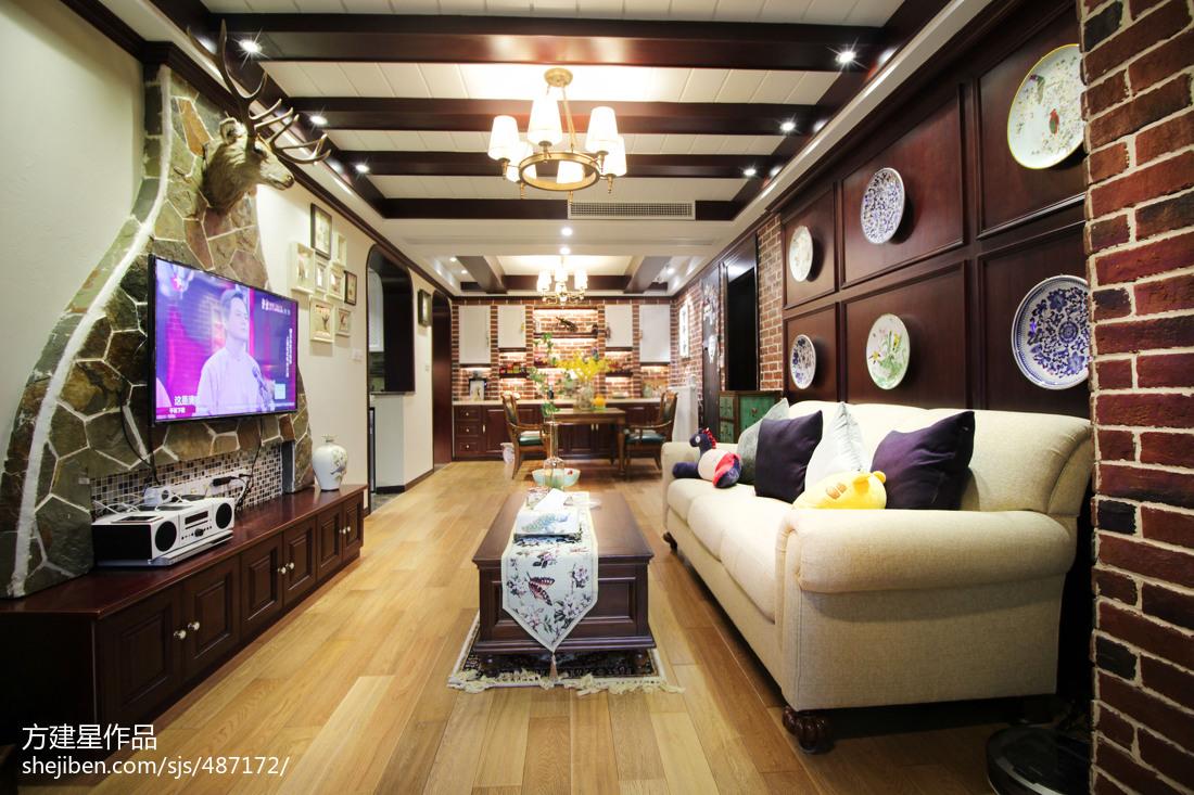 美式客厅电视柜