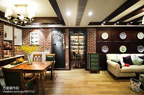 热门71平米二居客厅美式装修图片大全