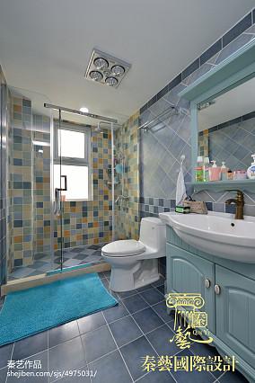 大气699平欧式别墅卫生间案例图卫生间设计图片赏析