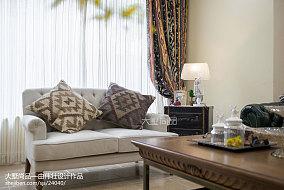 面积133平别墅客厅欧式装修欣赏图片别墅豪宅欧式豪华家装装修案例效果图