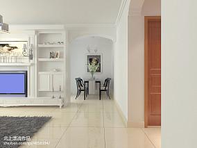 精美面积78平宜家二居客厅装修实景图