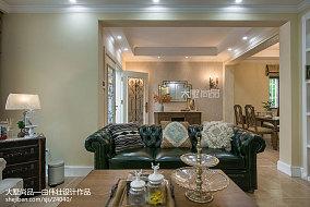平方欧式别墅客厅装修实景图片别墅豪宅欧式豪华家装装修案例效果图