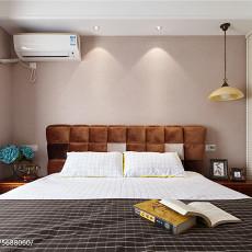 2018精选面积98平美式三居卧室装饰图片大全