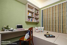 精选三居休闲区美式效果图三居美式经典家装装修案例效果图