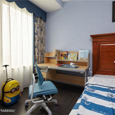 精选美式三居儿童房装修效果图