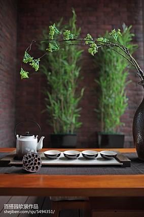 热门阳台中式装饰图片欣赏