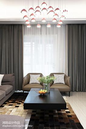 热门122平米现代复式客厅装修图片复式现代简约家装装修案例效果图