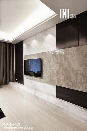 温馨51平现代复式装修美图复式现代简约家装装修案例效果图