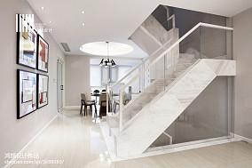 精致80平现代复式装修效果图复式现代简约家装装修案例效果图
