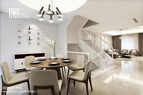 大气65平现代复式装修图片复式现代简约家装装修案例效果图