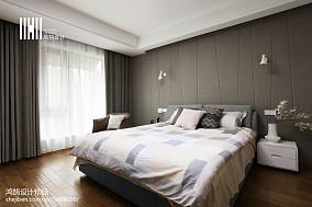 现代房间布置复式现代简约家装装修案例效果图
