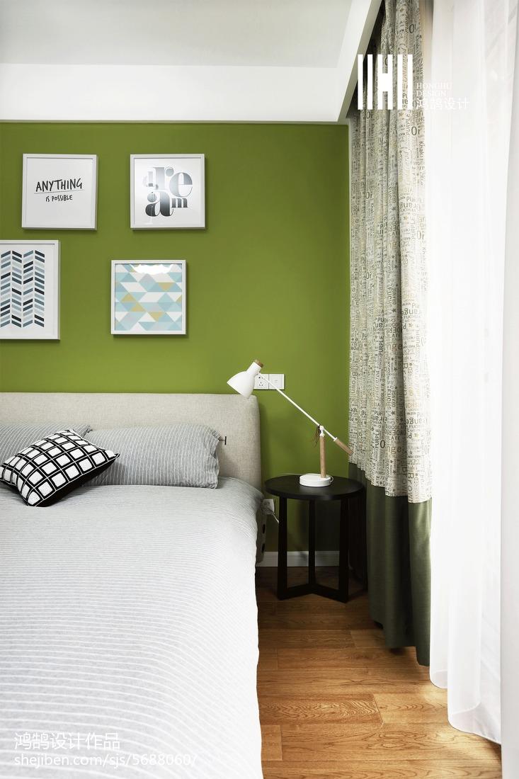 2018精选复式儿童房现代实景图片卧室现代简约卧室设计图片赏析