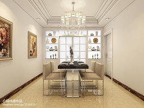 美式风格130平米三居室装修效果图欣赏