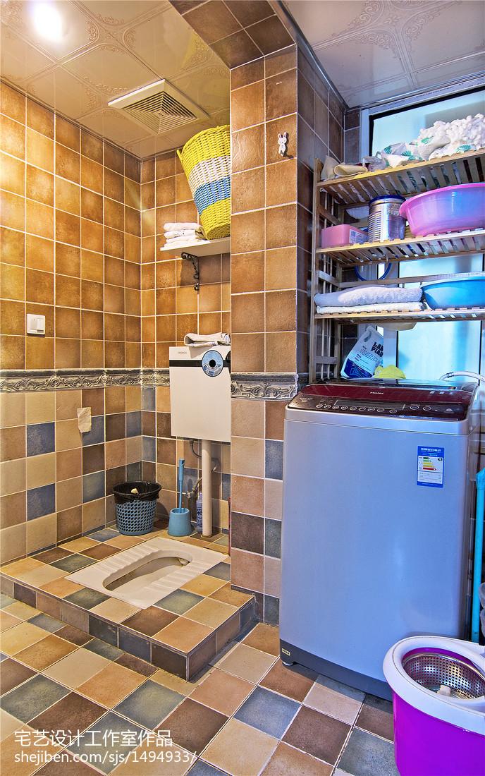 地中海式浴室