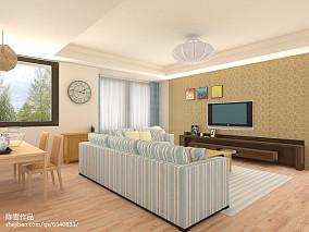 热门简约小户型客厅装修设计效果图