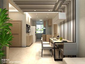 2018精选103平米三居厨房简约装修图片