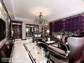 精美新古典别墅客厅实景图片欣赏