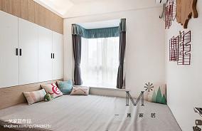 精美面积87平现代二居书房装修效果图片