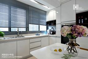 精致112平现代三居装修效果图三居现代简约家装装修案例效果图