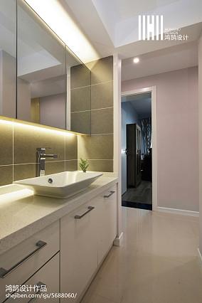 精美123平现代三居装潢图三居现代简约家装装修案例效果图