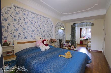 浪漫60平地中海二居卧室装饰美图卧室