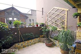 大气85平地中海二居阳台装饰图