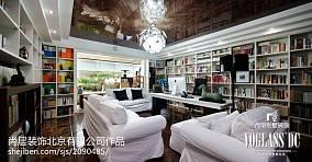 精美140平米现代别墅书房装修图片欣赏
