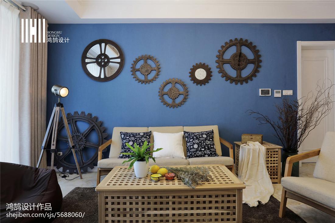 平米三居客厅北欧效果图客厅北欧极简客厅设计图片赏析
