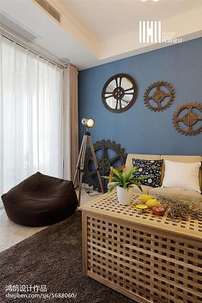 精选面积109平北欧三居客厅装修图片欣赏三居北欧极简家装装修案例效果图