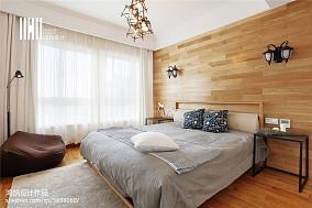 华丽90平北欧三居设计案例三居北欧极简家装装修案例效果图