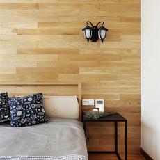 精美面积98平北欧三居卧室装修设计效果图片欣赏