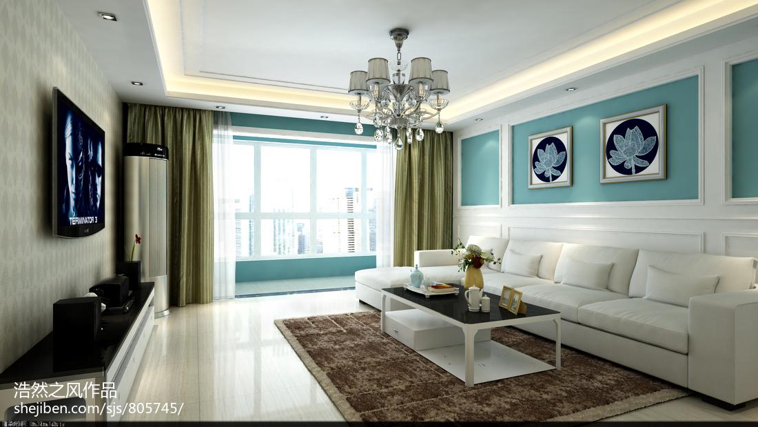 面积106平混搭三居客厅装饰图片欣赏客厅