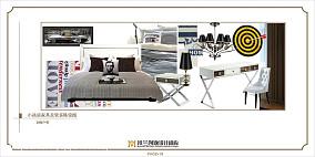 精美现代小户型卧室装饰图