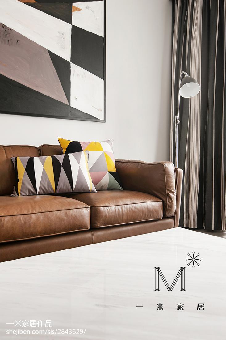 精美93平大小客厅三居混搭效果图片大全客厅