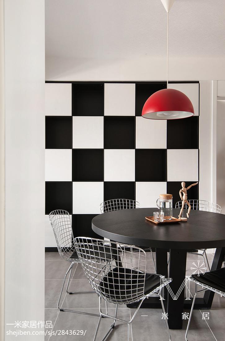 精美大小90平混搭三居餐厅装修设计效果图片大全厨房