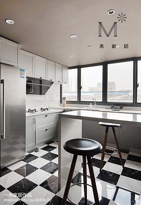 精美三居厨房混搭装饰图