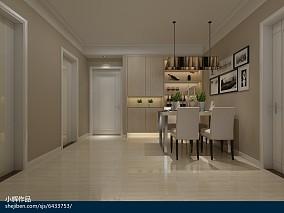 鹿景苑96㎡两室两厅新中式风格装修效果图_2298970