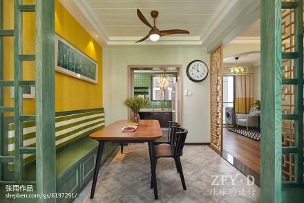 精选112平米四居餐厅简约装饰图片大全厨房