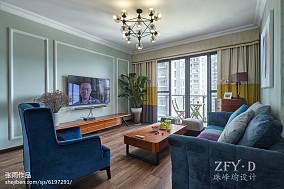 华丽98平简约四居客厅装饰图片客厅设计图片赏析