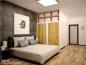 卧室壁柜床装修图片