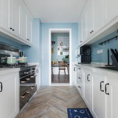 大气93平北欧三居厨房设计图